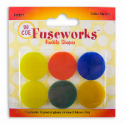 1-inch Variety-1 Color Circle Shapes FW877