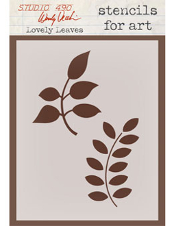 "4 1/2"" x 6 3/8"" - LOVELY LEAVES"