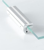 Glass Edge Wall Clamper 4''
