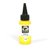117-Color Line Pen,Yellow 2.2oz.