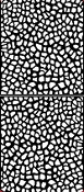 Mesh Mosaic Etching Resist Sticker