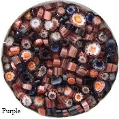 Millefiori Purple 90coe-1oz.