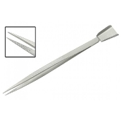 Frit Tweezer with Scoop 7 inches