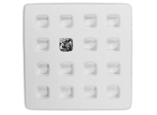 6503 Square Earring Pod Cube Tray Mold