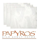 Papyros Kiln Shelf Paper-100 Pack